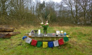 turtlelodgehealing.co.uk image: the Sweat Lodge altar